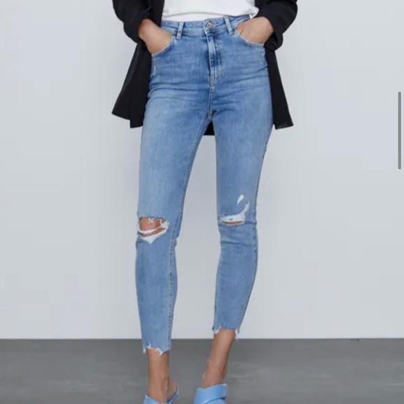 Zara skinny jeans size 27 (US 4)